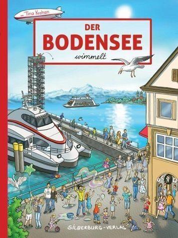 Buch mit Papp-Einband »Der Bodensee wimmelt«