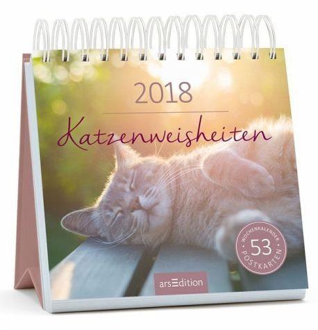 Kalender »Katzenweisheiten 2018 Postkartenkalender«