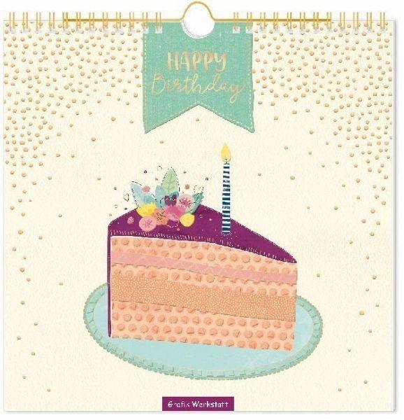 Kalender »Lieblingsstücke - Geburtstagskalender«