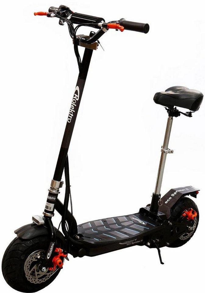 rolektro e scooter eco sprinter 2 300 w 20 km h online. Black Bedroom Furniture Sets. Home Design Ideas