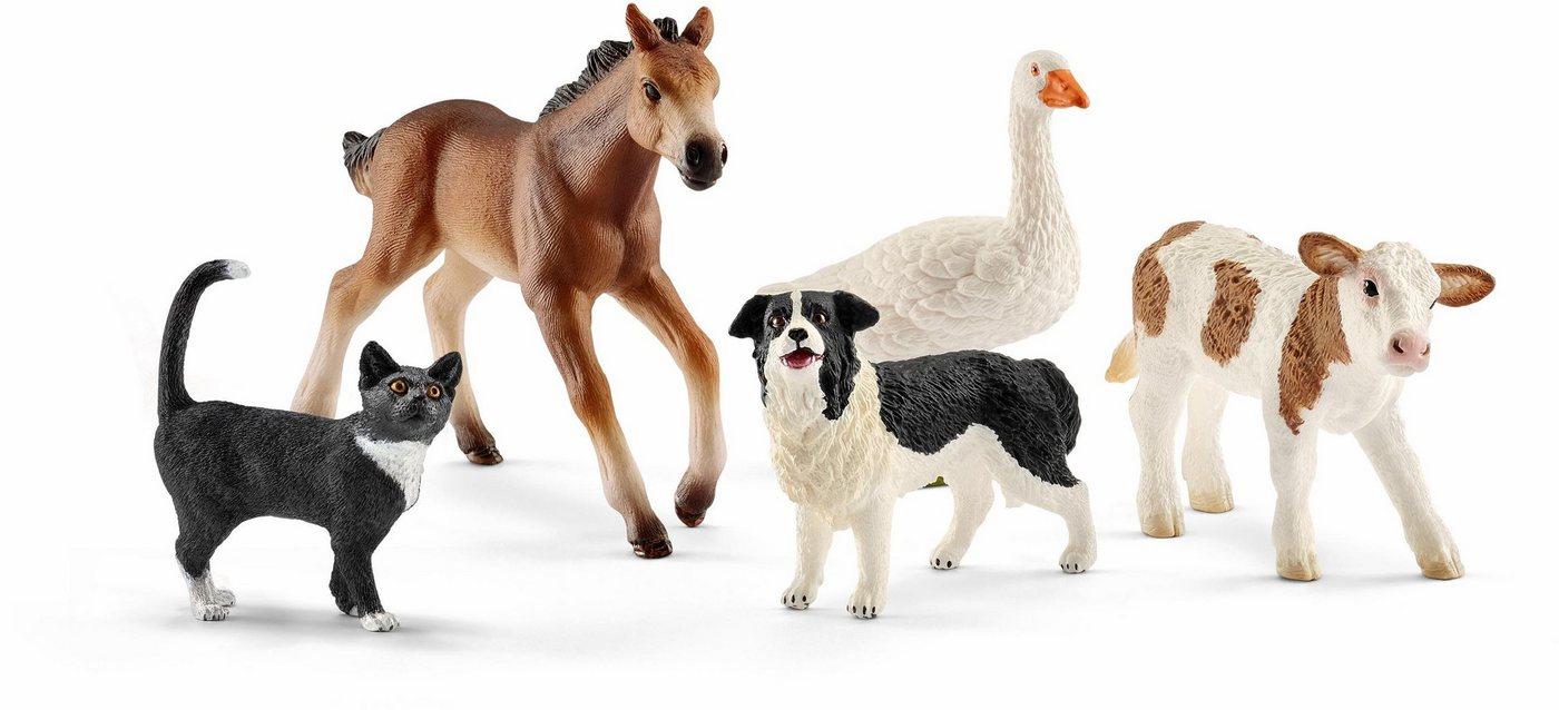 Schleich® Spielset (42386), »Farm World, Tier-Mix«