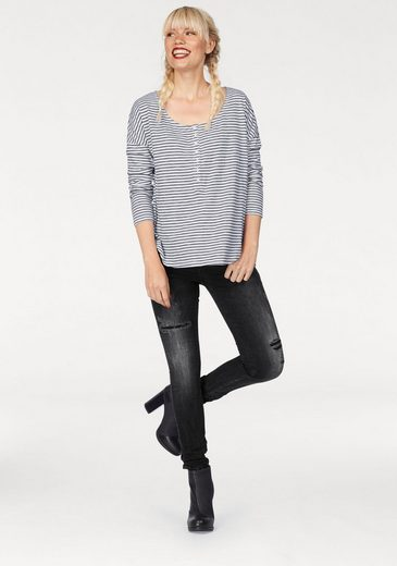 Ltb Henley Shirt Elewo, Into Strip-optics