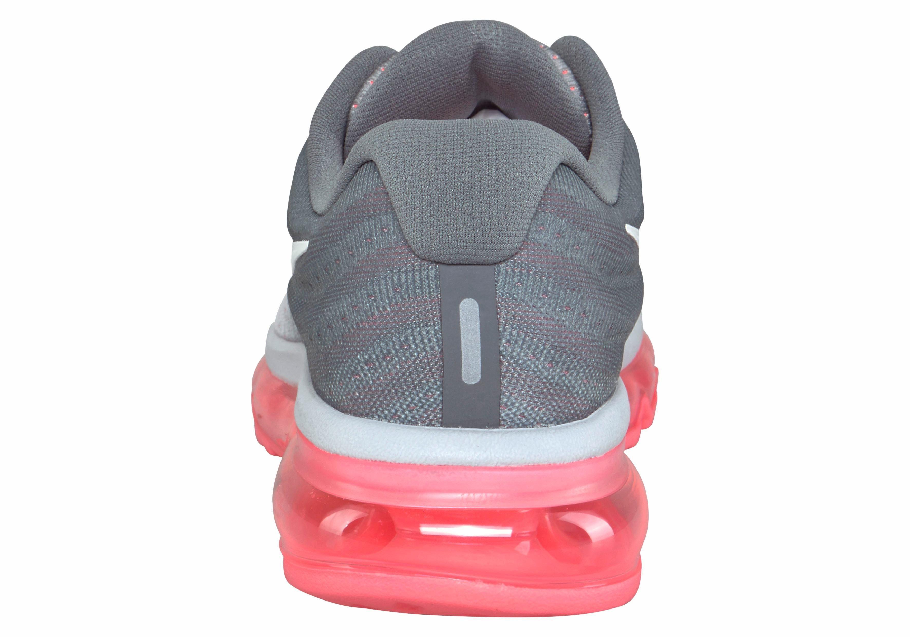 Nike Sportswear Air Max 2017 Sneaker, Damen  weiß-grau-koralle