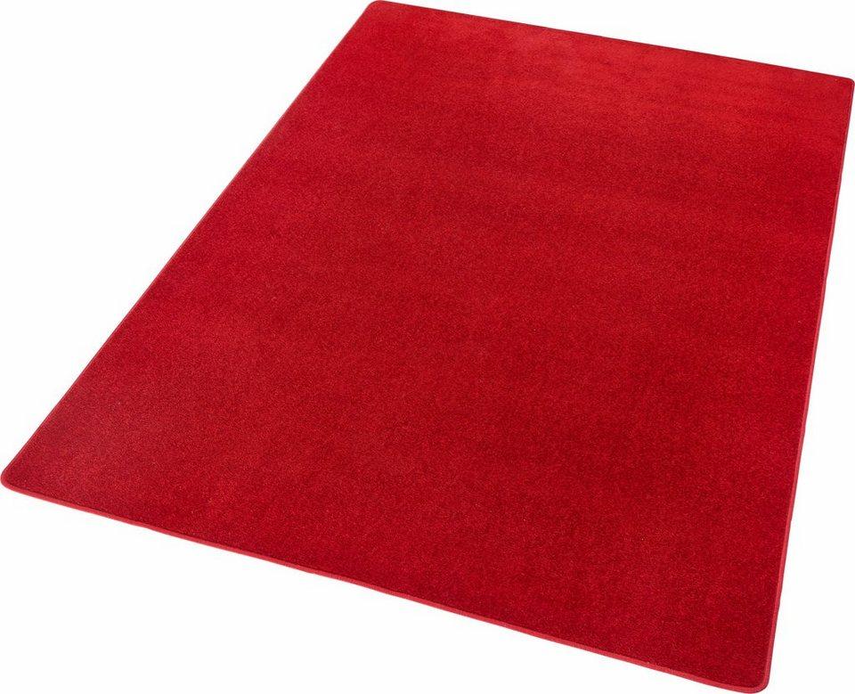 teppich fancy hanse home rechteckig h he 7 mm kurzflor ringsum gekettelt online kaufen otto