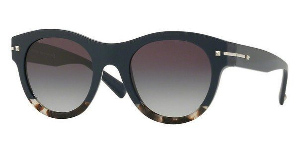 Valentino Damen Sonnenbrille » VA4020«, blau, 50078G - blau/lila