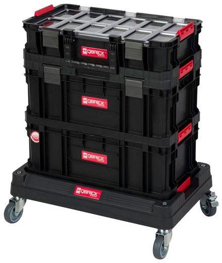 Kreher Werkzeugtrolley (Set, 4 Stück), 3 Boxen, 1 Trolley