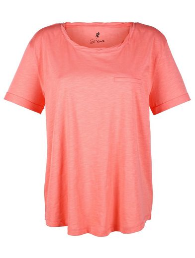 Alba Moda Shirt aus Flamégarn