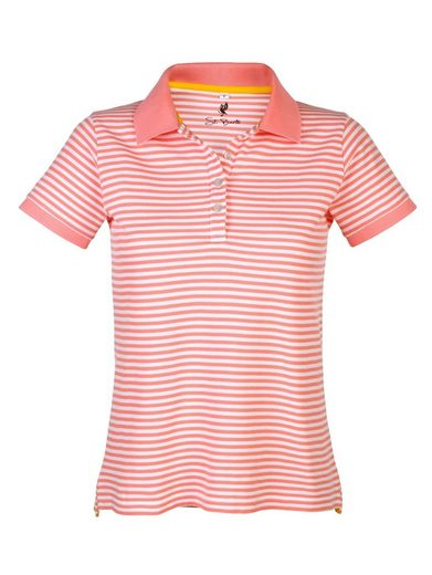 Alba Moda Poloshirt im Ringeldessin
