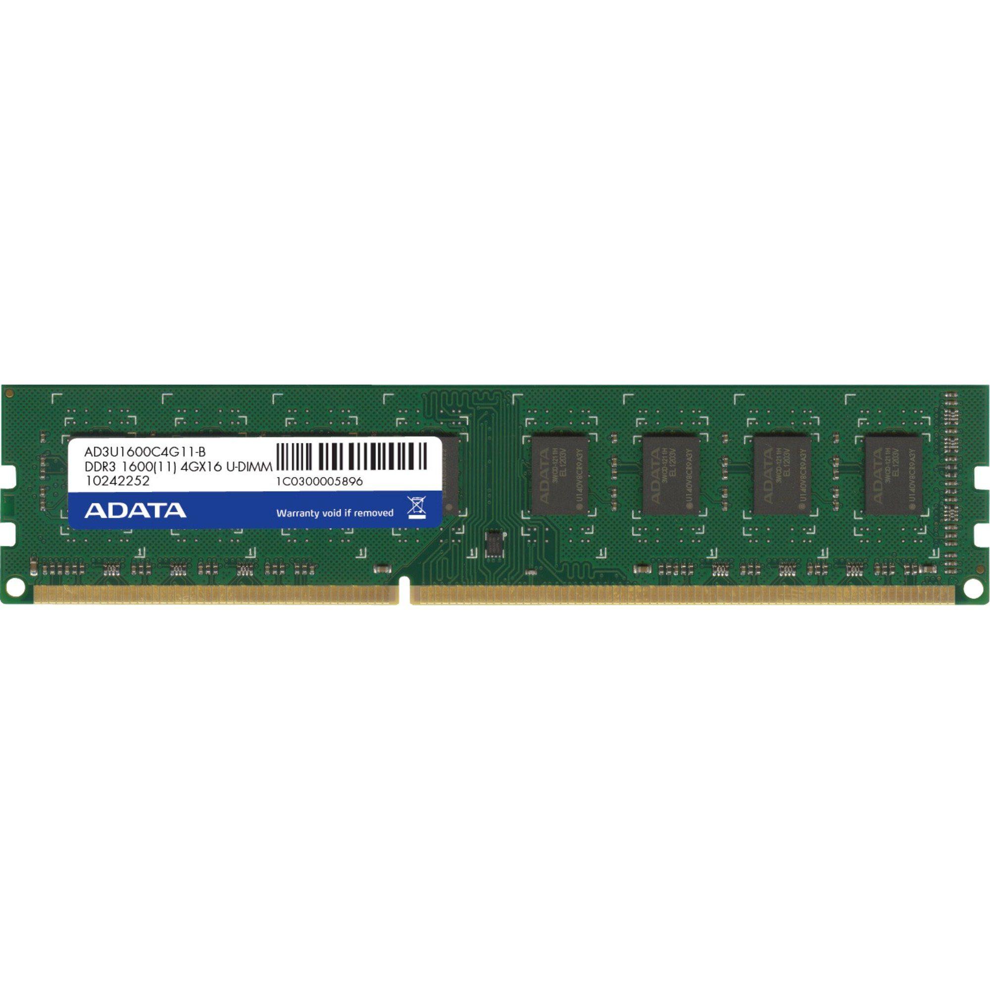 ADATA Arbeitsspeicher »DIMM 4 GB DDR3-1600«