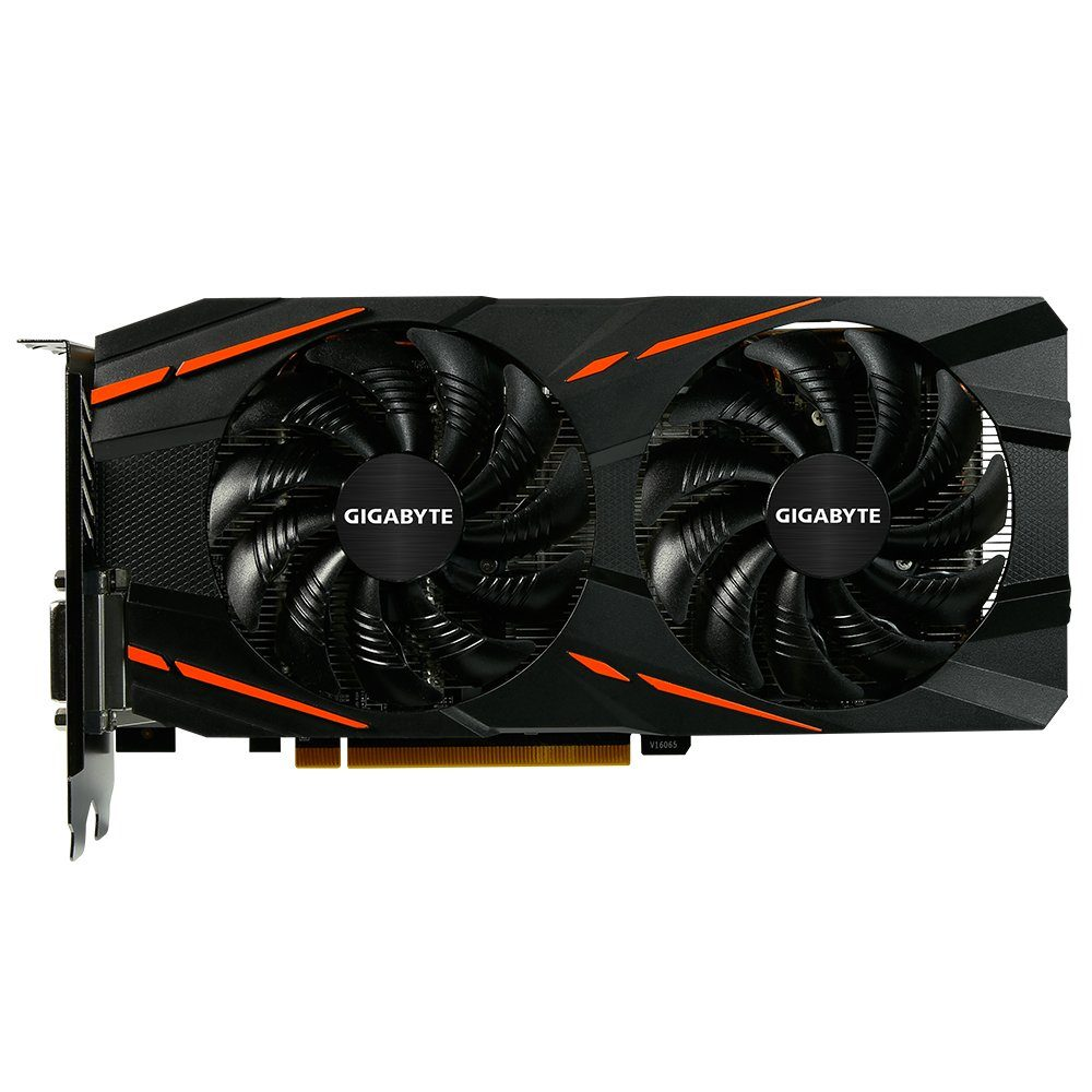 GIGABYTE Grafikkarte AMD Radeon™ RX580 8GB GDDR5 256Bit »GV-RX580GAMING-8GD«