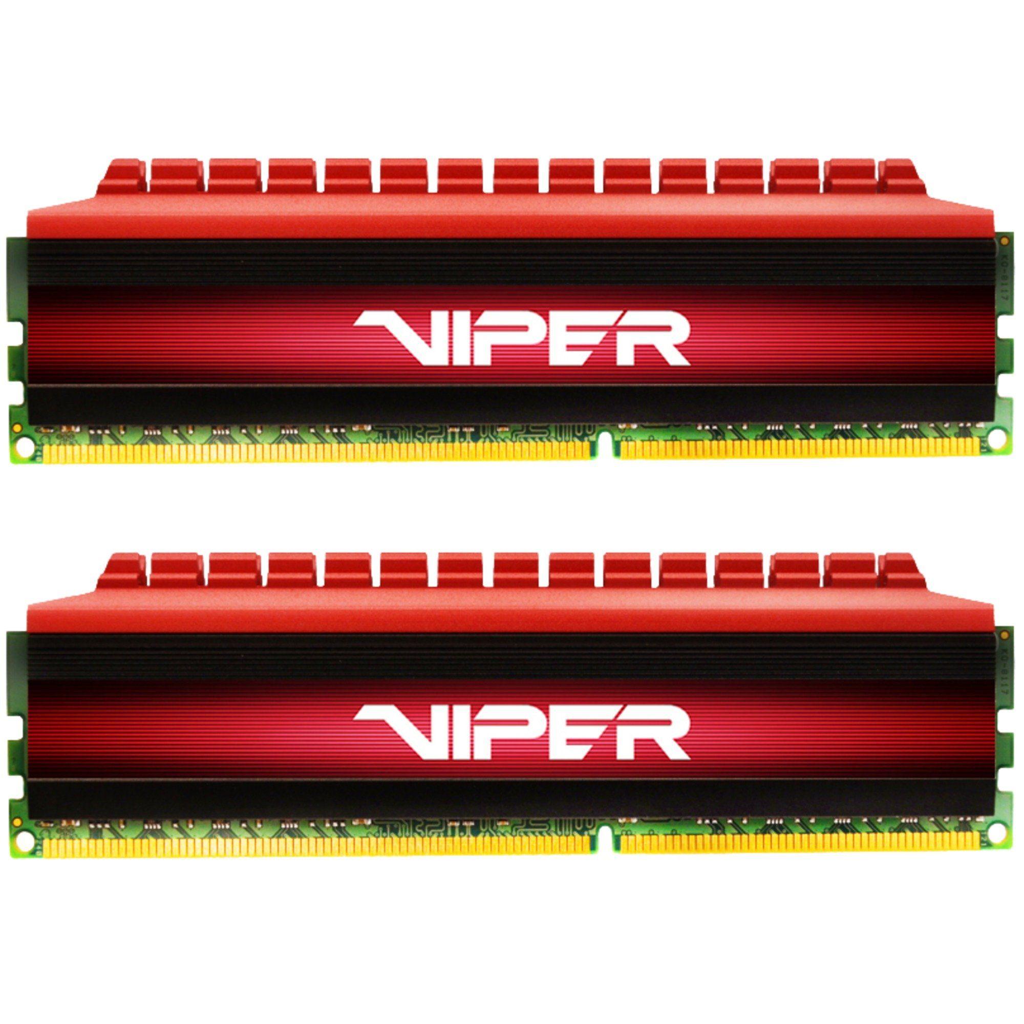 Patriot Arbeitsspeicher »DIMM 16 GB DDR4-3733 Kit, PV416G373C7K, Viper 4«