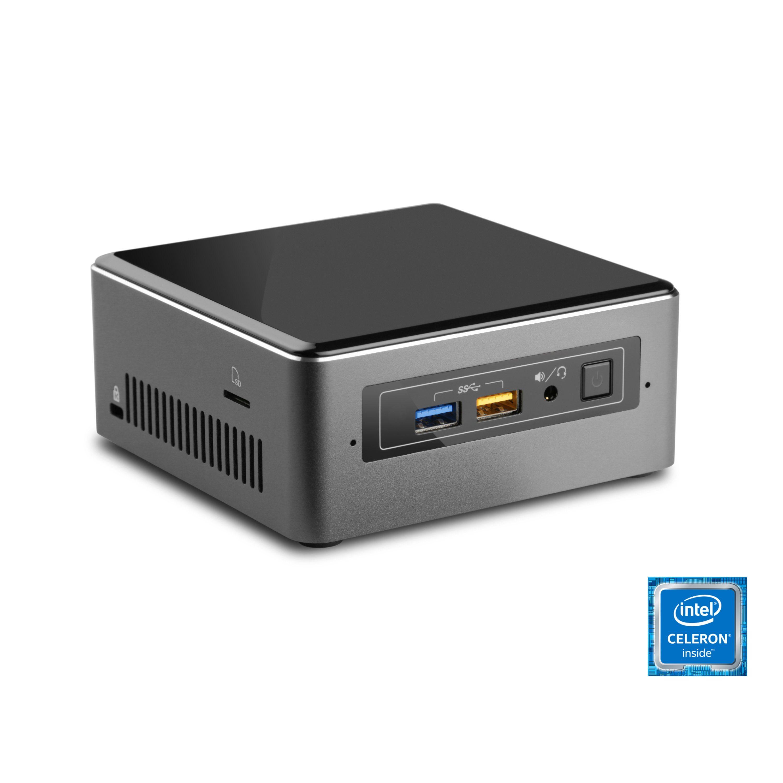 CSL Mini PC | Celeron J3455 | Intel HD 500 | 4 GB RAM | SSD »Intel NUC Celeron J3455 Windows 10«