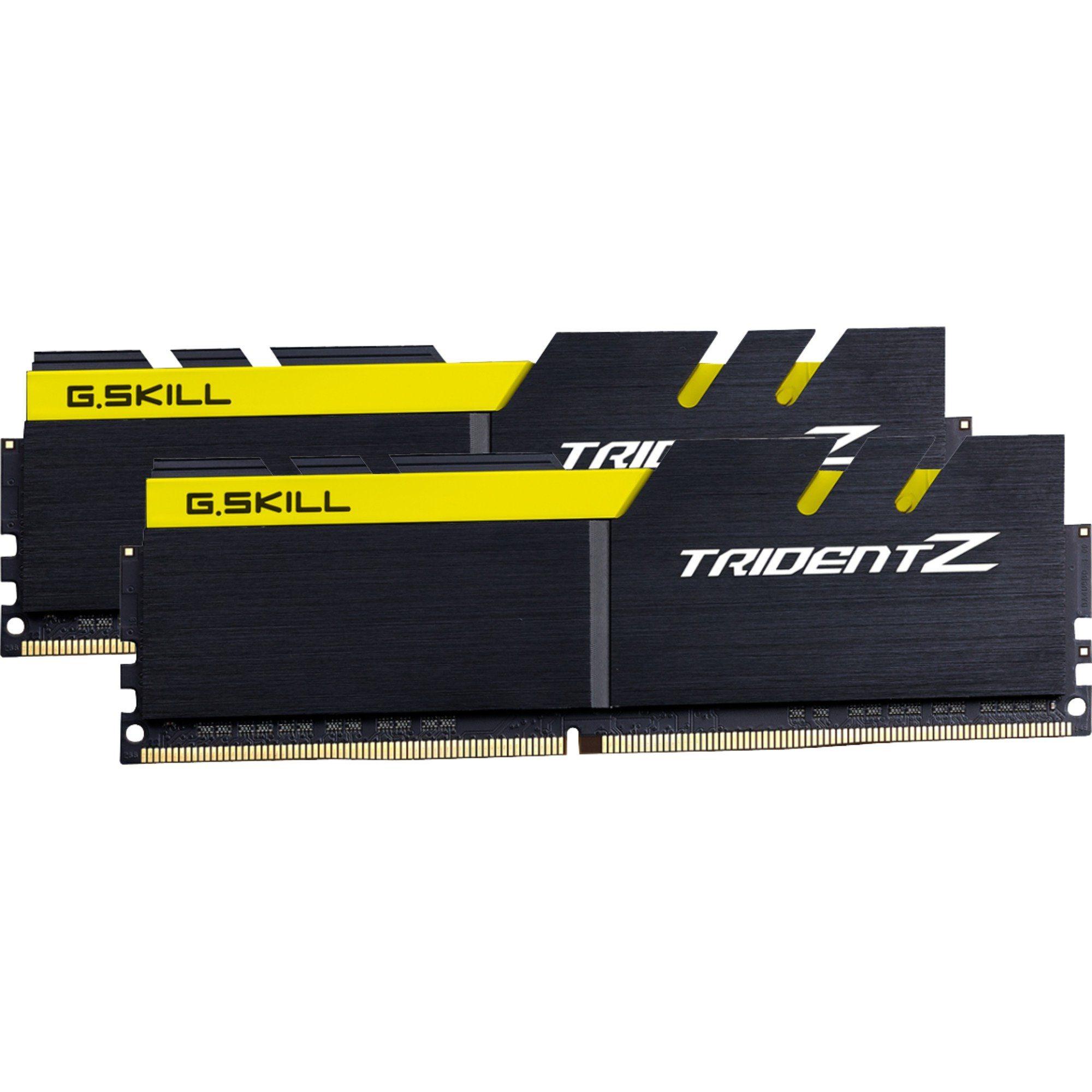 G.Skill Arbeitsspeicher »DIMM 16 GB DDR4-3200 Trident Z«