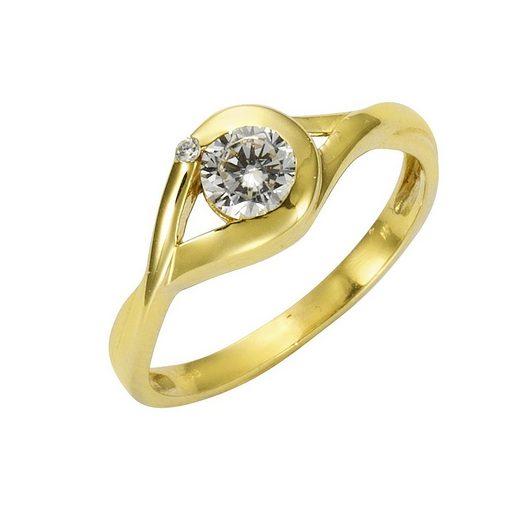 Vivance Ring »333/- Gelbgold Zirkonia«