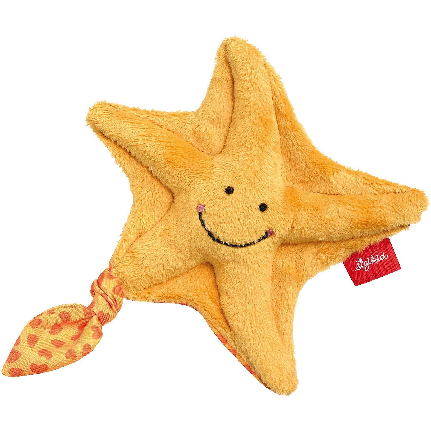 sigikid Mini-Greifling Seestern, Red Stars (41765)