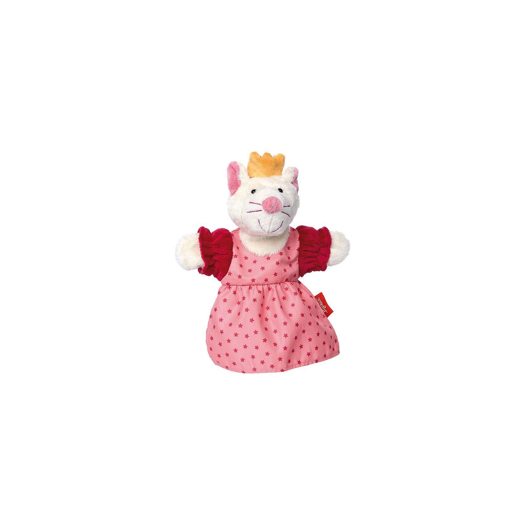 Sigikid Sweety My little theatre Handpuppe Katze, 26 cm (41442)