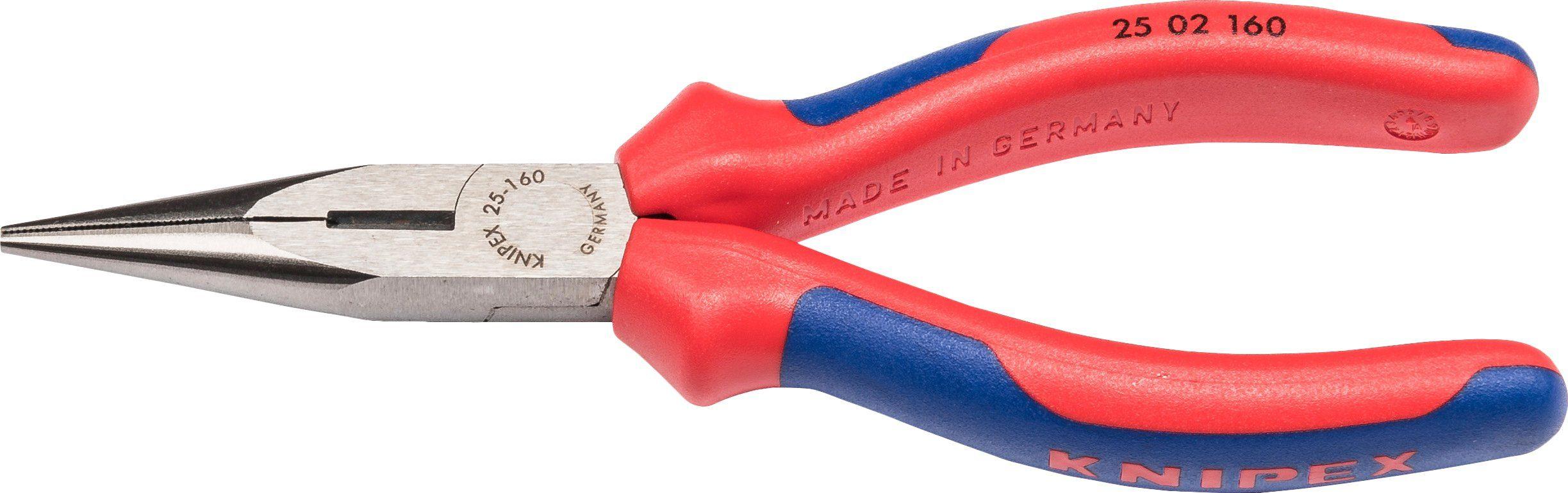 KNIPEX Flachrundzange »WKPT2502160«, 160 mm