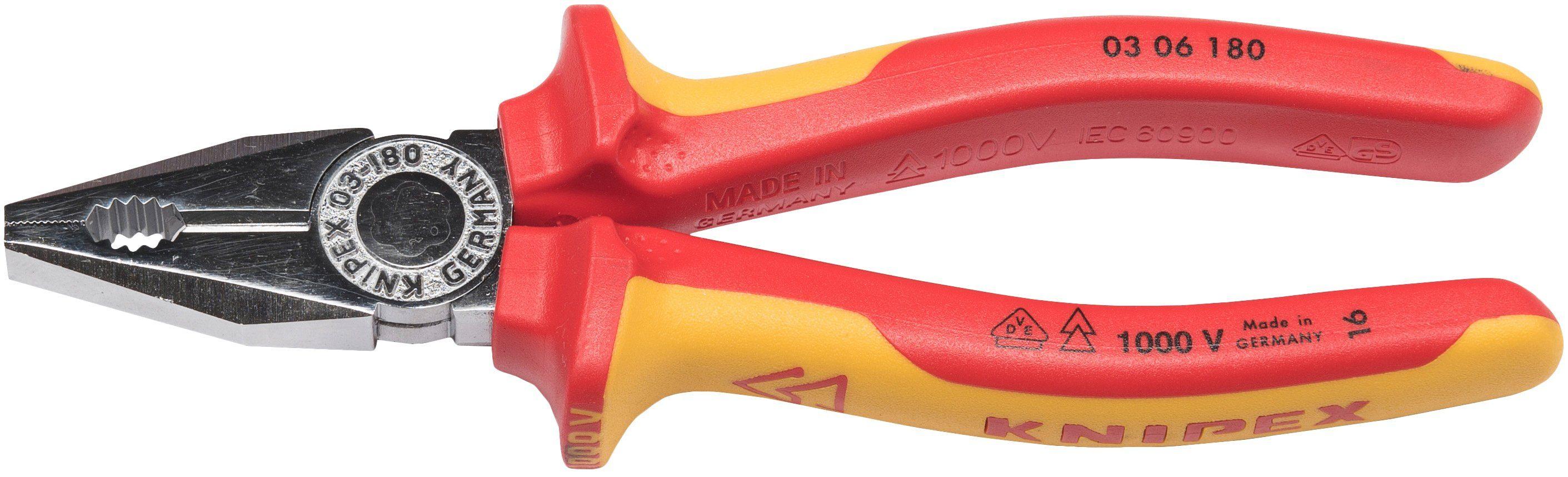 KNIPEX Kombizange »WKPT0306180«, 180 mm