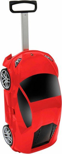 Packenger Hartschalen-Trolley »Lamborghini«, 4 Rollen | Taschen > Koffer & Trolleys > Trolleys | Rot | Packenger
