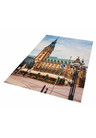 HANSE HOME Kilimas »Rathaus Hamburg« rechteckig a...
