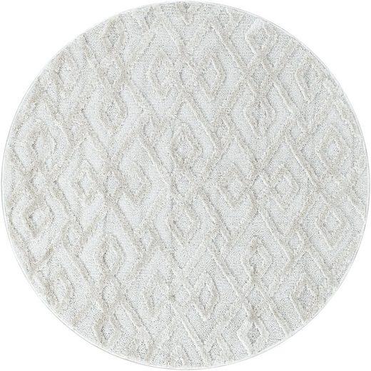 Teppich »PISA 4708«, Ayyildiz, rund, Höhe 20 mm