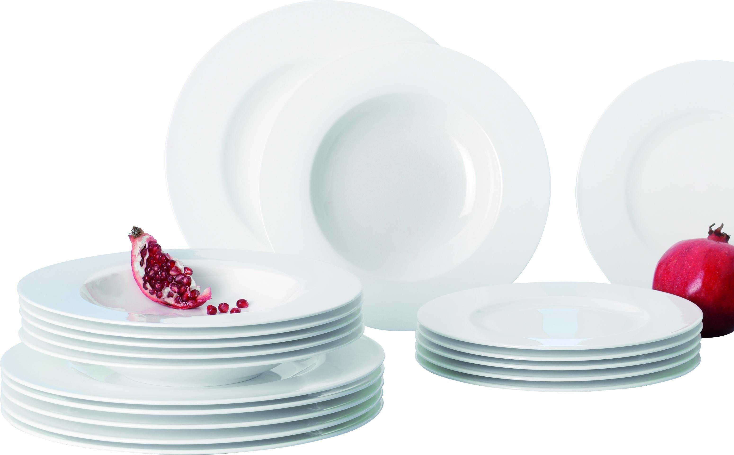Villeroy & Boch Tafelservice, Premium Bone Porzellan, 12 Teile, »Royal«