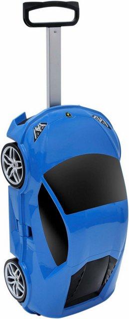 Packenger Hartschalen-Trolley »Lamborghini«, 4 Rollen | Taschen > Koffer & Trolleys > Trolleys | Blau | Packenger