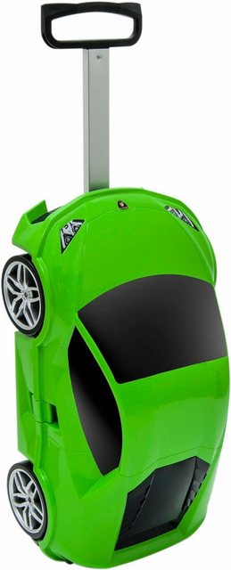 Packenger Hartschalen-Trolley »Lamborghini«, 4 Rollen | Taschen > Koffer & Trolleys > Trolleys | Grün | Packenger