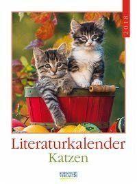 Kalender »Katzen 2018 Literatur-Wochenkalender«