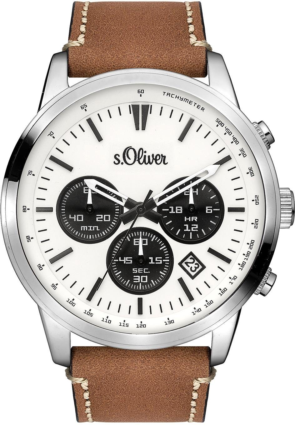 s.Oliver RED LABEL Chronograph »SO-3335-LC«