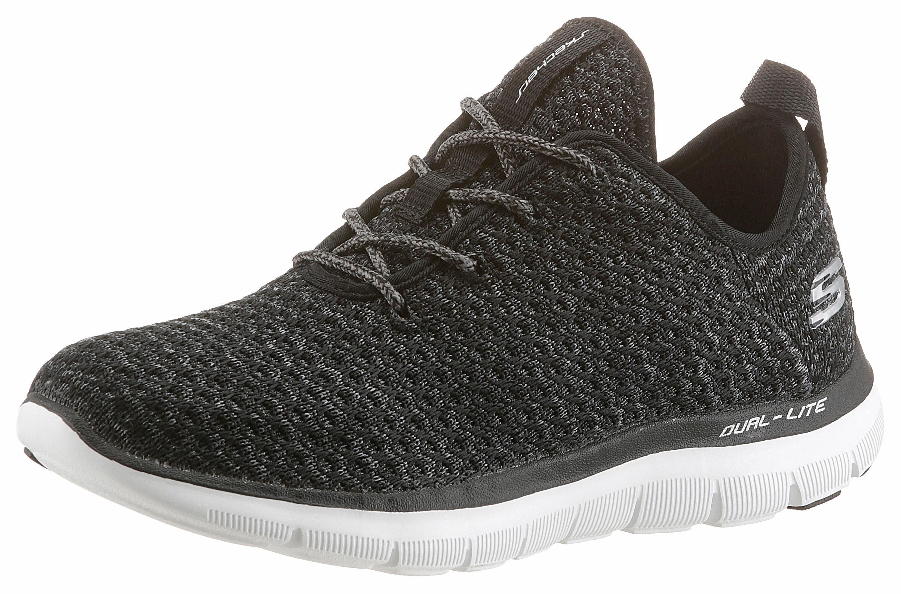 Skechers Flex Appeal 20 Bold Move Sneaker, mit Air Cooled-Memory Foam online kaufen  schwarz