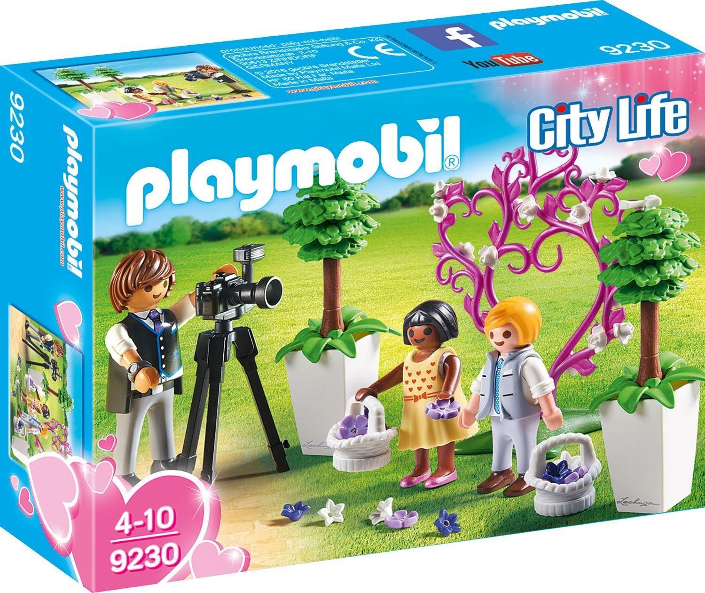 Playmobil® Fotograf mit Blumenkindern (9230), »City Life«