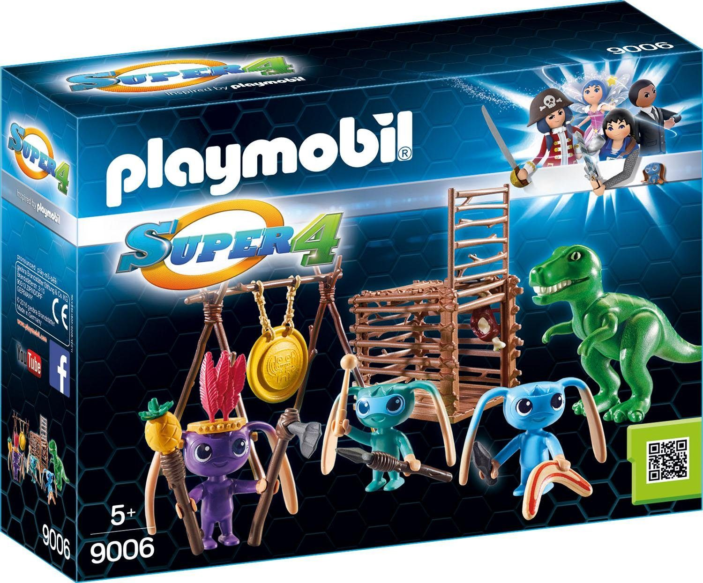 Playmobil® Alien-Krieger mit T-Rex-Falle (9006), »Super 4®«