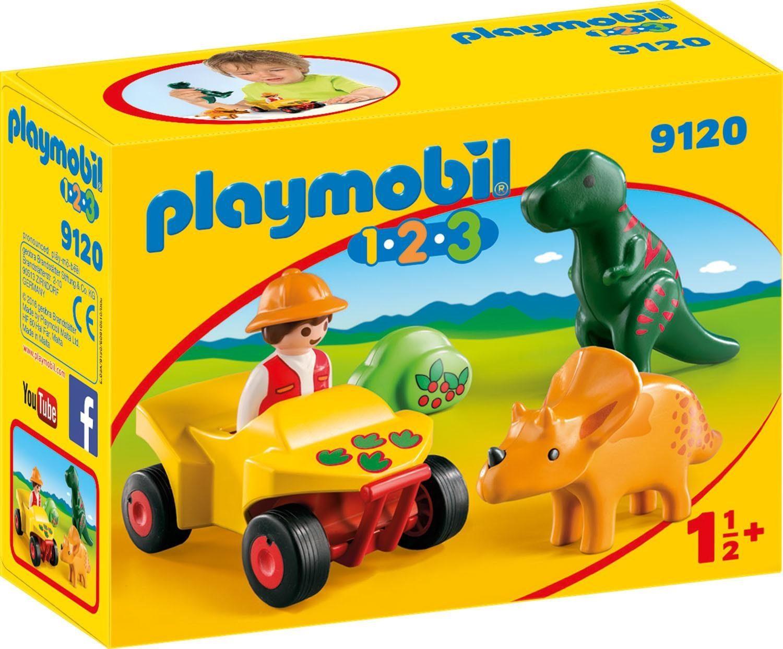 Playmobil® Dinoforscher mit Quad (9120), »1-2-3«