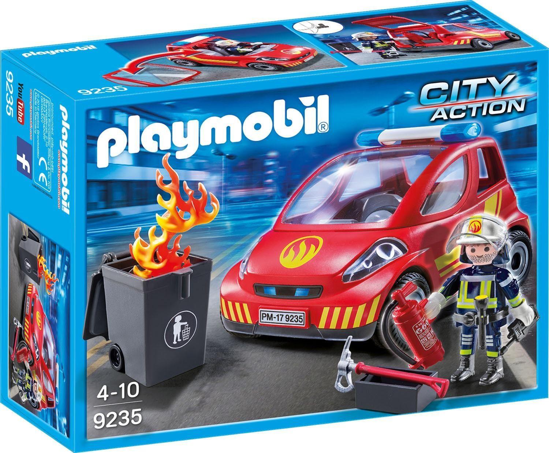 Playmobil® Feuerwehr-Einsatzfahrzeug (9235), »City Action«
