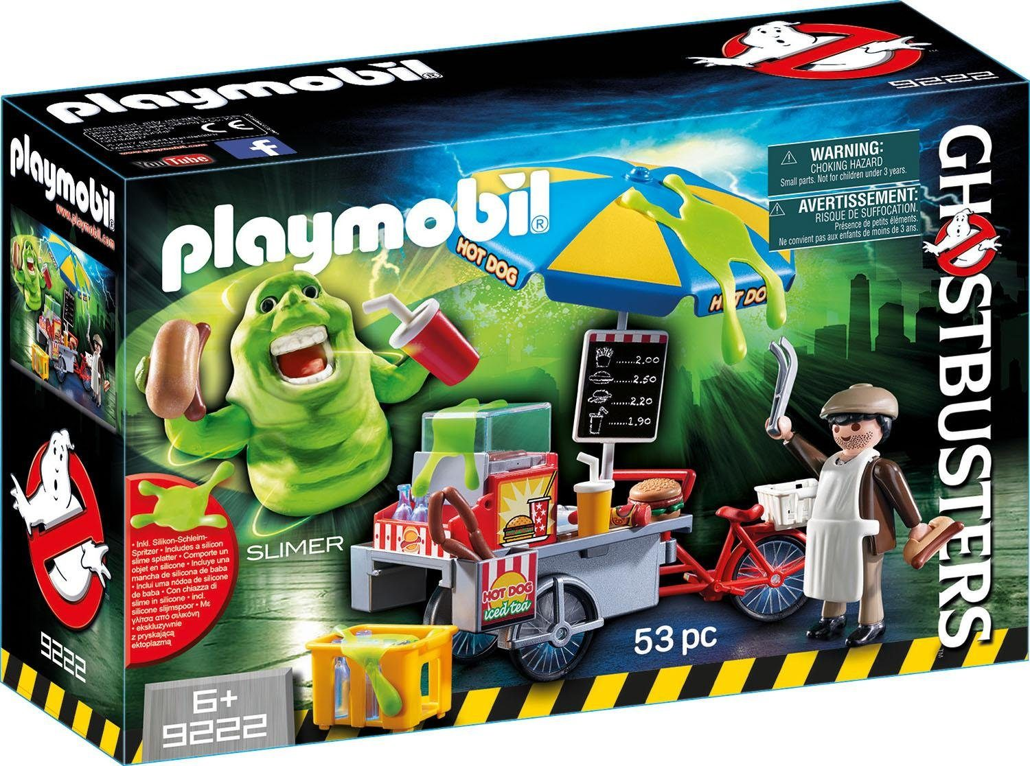 Playmobil® Slimer mit Hot Dog Stand (9222), »Ghostbusters«