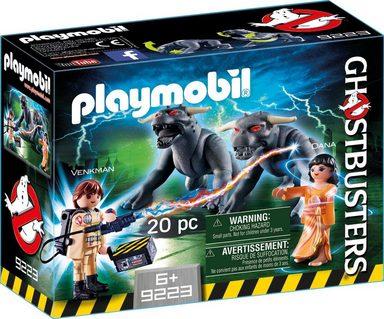 Playmobil® Konstruktionsspielsteine »Venkman und Terror Dogs (9223), Ghostbusters«