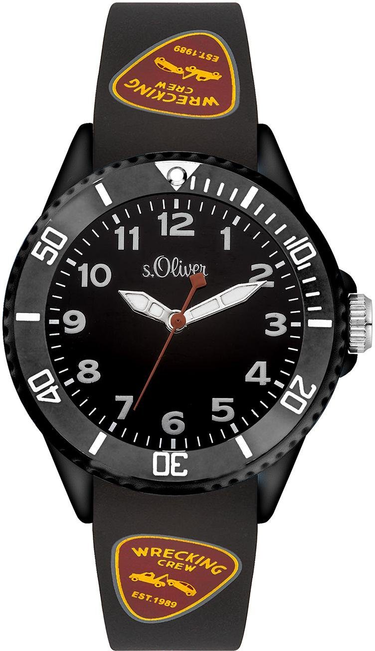 s.Oliver RED LABEL Quarzuhr »SO-3409-PQ«
