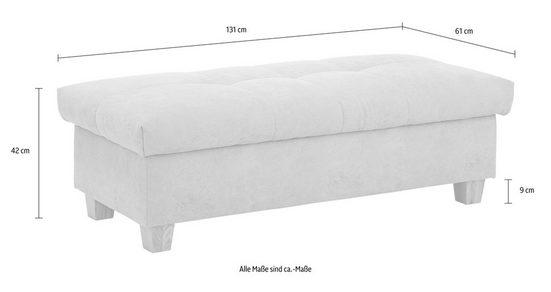 Home affaire Hocker »Lyla«  mit Stauraum  Breite 131 cm