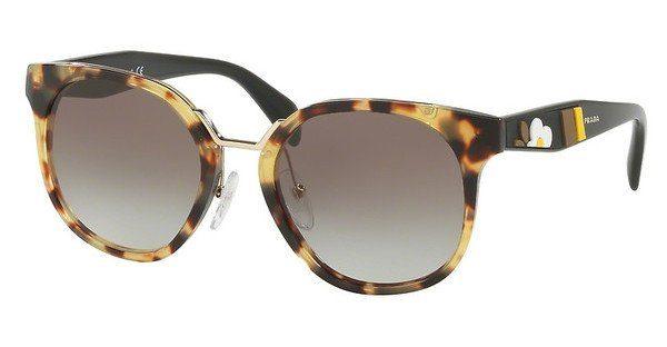 PRADA Prada Damen Sonnenbrille » PR 17TS«, braun, 7S00A7 - braun/grau