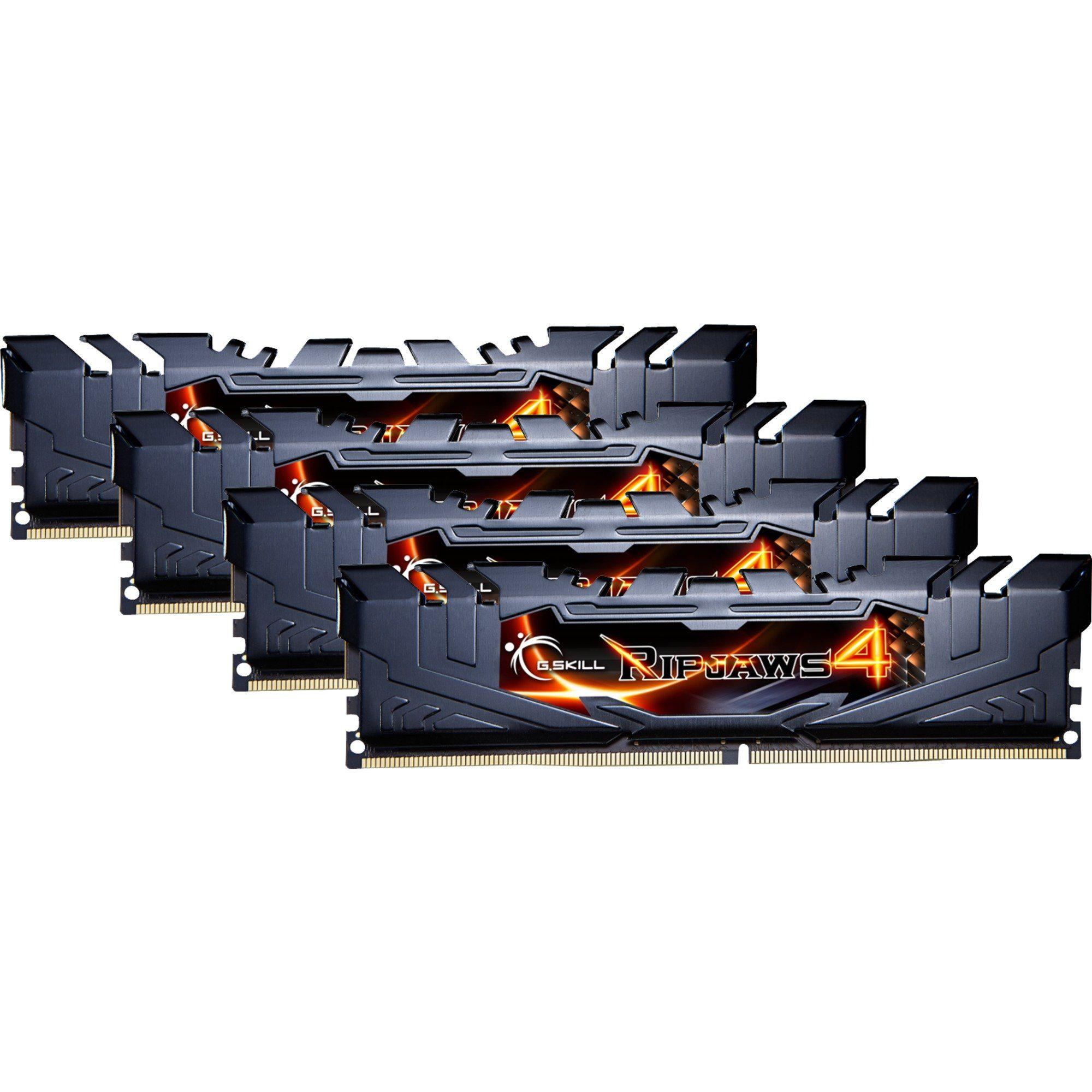 G.Skill Arbeitsspeicher »DIMM 16GB DDR4-3200 Quad-Kit«