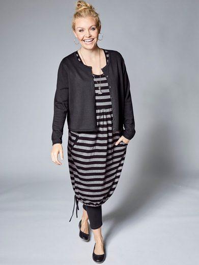 Janet und Joyce by Happy Size Kleid gestreift