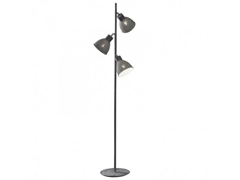 salesfever stehlampe 3 lampenschirme gelocht sina online. Black Bedroom Furniture Sets. Home Design Ideas