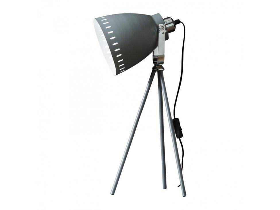 SalesFever Tischleuchte 3-beinig gelochter Schirm »Florian«