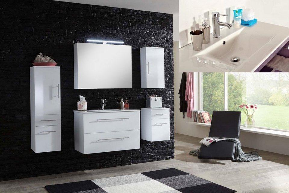 salesfever badem bel set breite 90cm 5tlg deluxe basia online kaufen otto. Black Bedroom Furniture Sets. Home Design Ideas