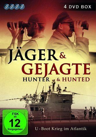 DVD »Jäger & Gejagte - U-Boot Krieg im Atlantik (4...«