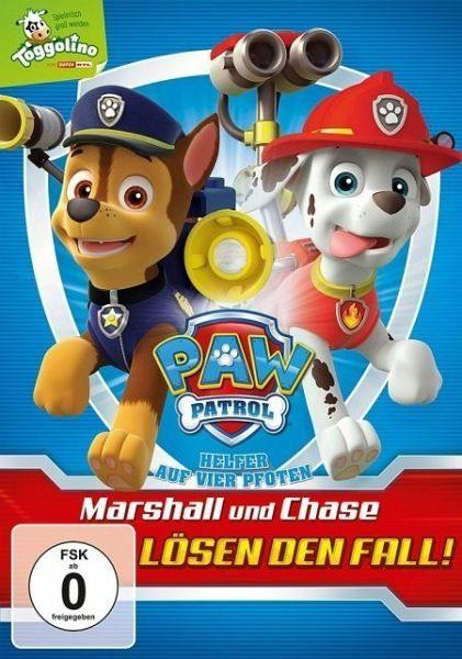 DVD »PAW Patrol – Marshall und Chase lösen den Fall!«
