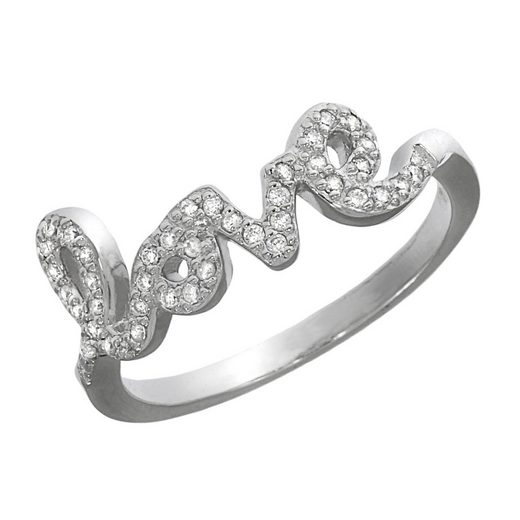 Vivance Ring »925/- Sterling Silber rhodiniert«