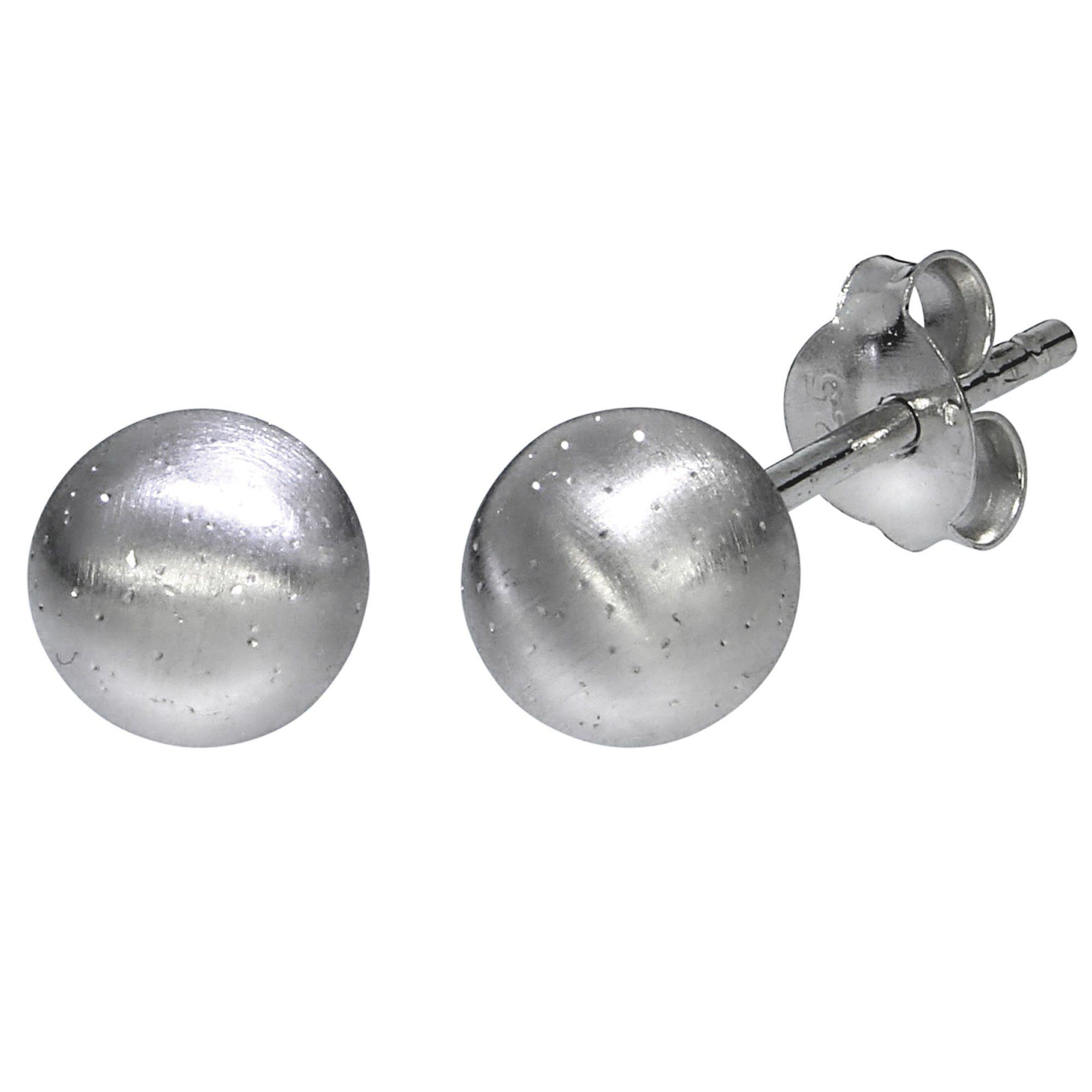 Firetti Ohrstecker »925/- Sterling Silber rhod. diamantiert«