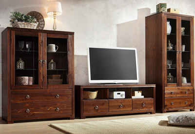 Home Affaire Wohnwand »Gotland«, Bestehend Aus 1 Highboard, 1 TV Lowboard